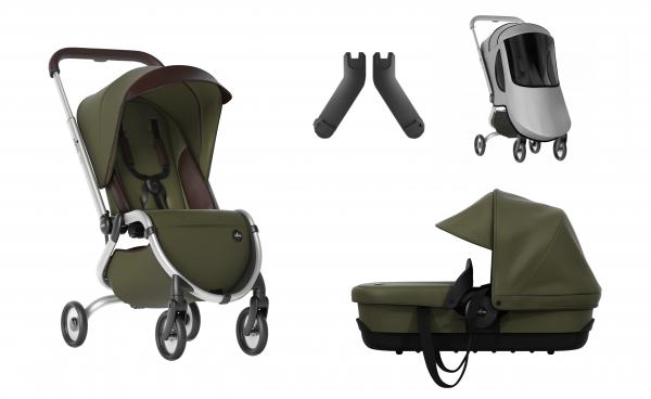 Mima Zigi Buggy + Free Carrycot + Adapter + Raincover