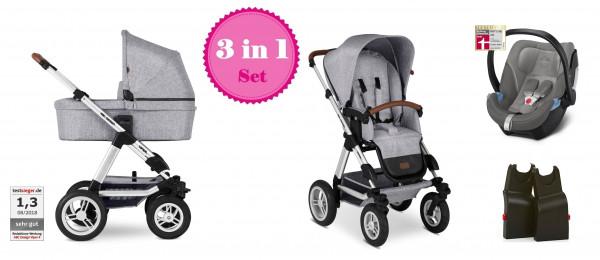 ABC Design Viper 4 Kinderwagen Set 3 in 1 Modell 2020