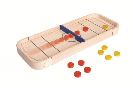 PlanToys 2in1 Shuffelboard Holzspiel