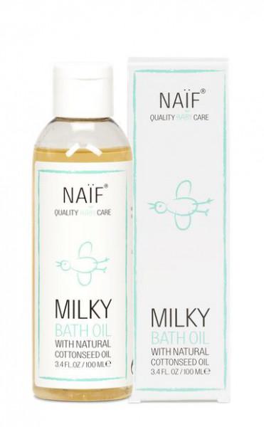 Naïf milky bath oil 100ml