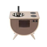Sebra wooden play kitchen Warm Grey