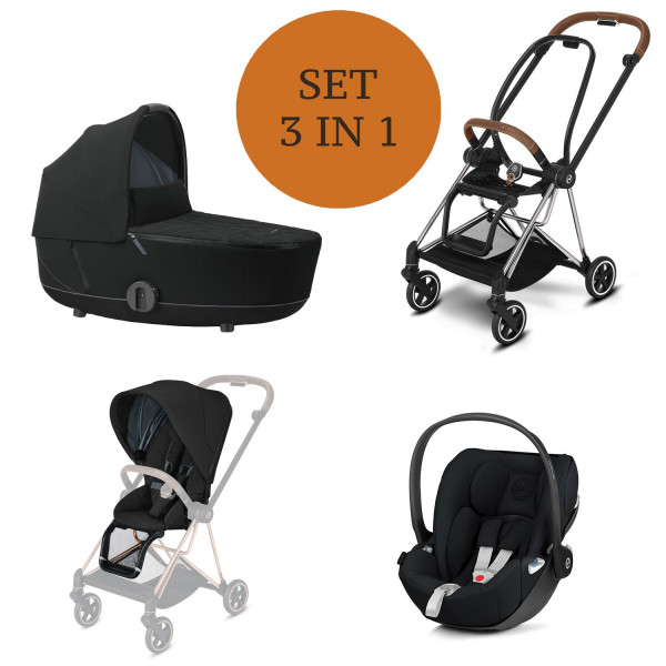 Cybex MIOS Kinderwagen Set 3 in 1 inkl. Babyschale