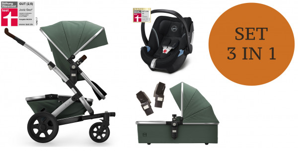 Joolz Geo 2 Kinderwagen Set 3 in 1 inkl. Babyschale Modell 2020