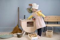 Sebra children's apron and chef's hat