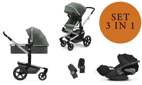 Joolz Day+ Kinderwagen Set 3 in 1 inkl. Cybex Cloud Z Babyschale