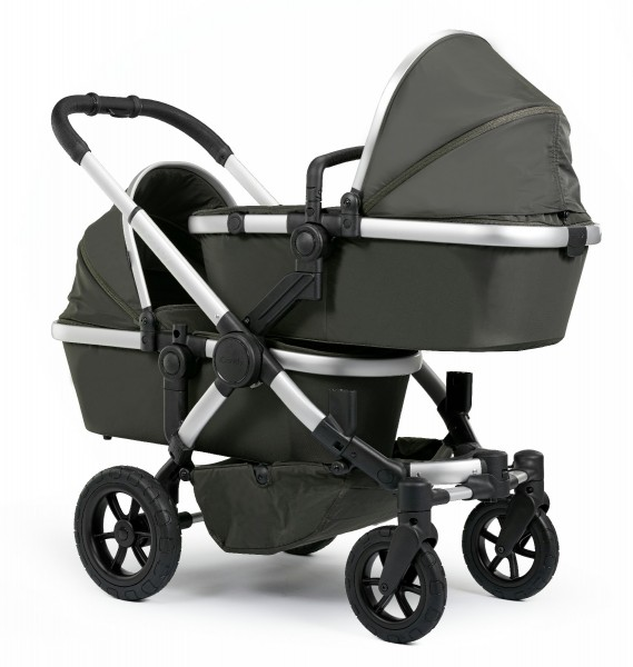 iCandy Peach All Terrain Zwillingswagen Forest