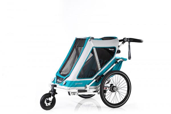 Qeridoo Speedkid1 Fahrradanhänger Modell 2020