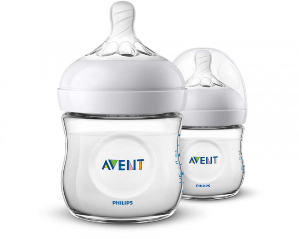 Philips Avent Natural Flasche neu 125ml 2er Pack