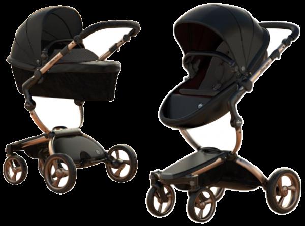 Mima Xari Design Kinderwagen Rose Gold - ABVERKAUF!!