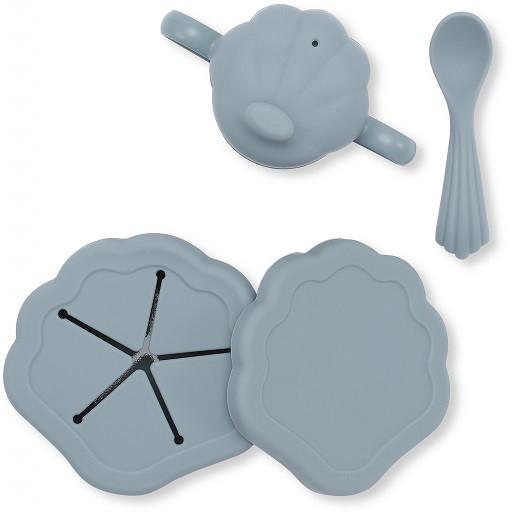 Konges Sløjd silicone children's tableware set