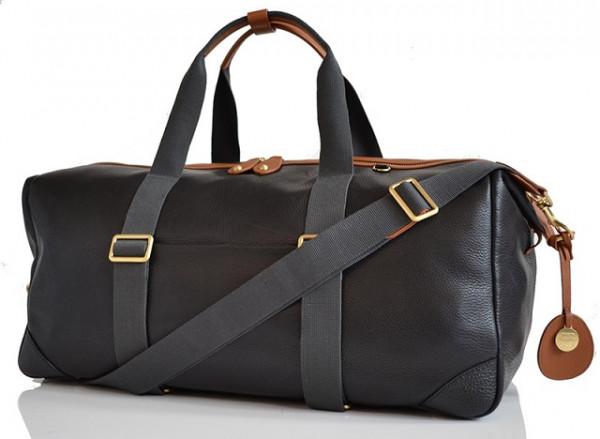 Pacapod Lynton Weekender diaper bag, leather