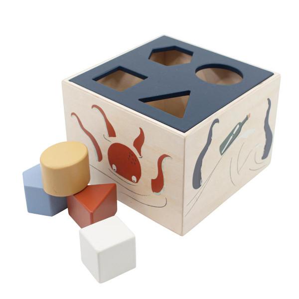 Sebra Formensteckspiel aus Holz
