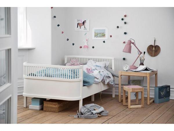 Sebra Bett, Junior & Grow Weiß 90x165x204cm Bundle Angebot!