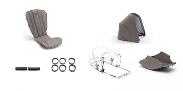 Bugaboo Bee 5 Style Set Komplett Mineral - Limited Edition 2020 online bestellen