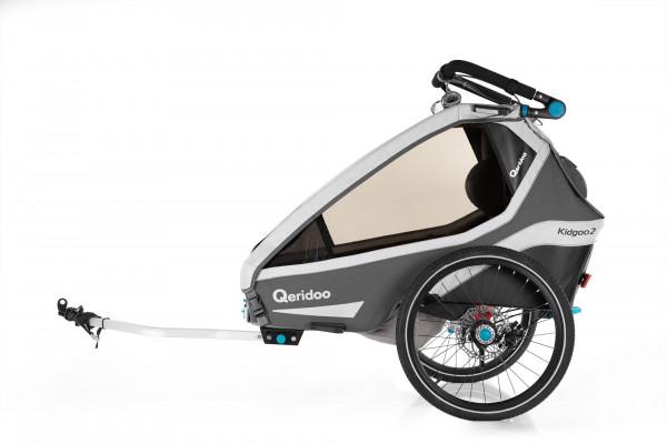 Qeridoo Kidgoo2 Sport Fahrradanhänger Modell 2020