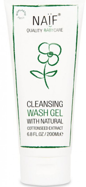 Naïf cleansing wash gel 200 ml
