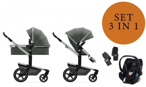Joolz Day+ Kinderwagen Set 3 in 1 inkl. Cybex Aton 5 Babyschale 2020