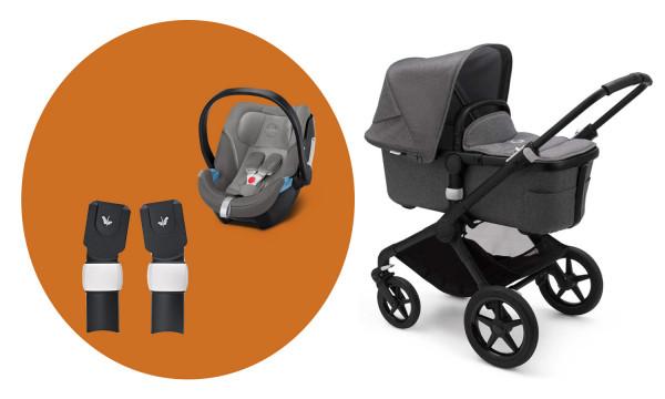Bugaboo Fox2 Kinderwagen Set 3 in 1 incl. Babyschale
