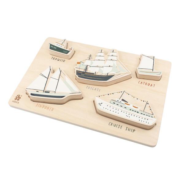 Sebra Greifpuzzle aus Holz