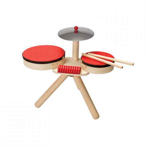 PlanToys Musikinstrumente für Kinder aus Holz (Schlagzeug, Drums, Xylophone, Music Set)