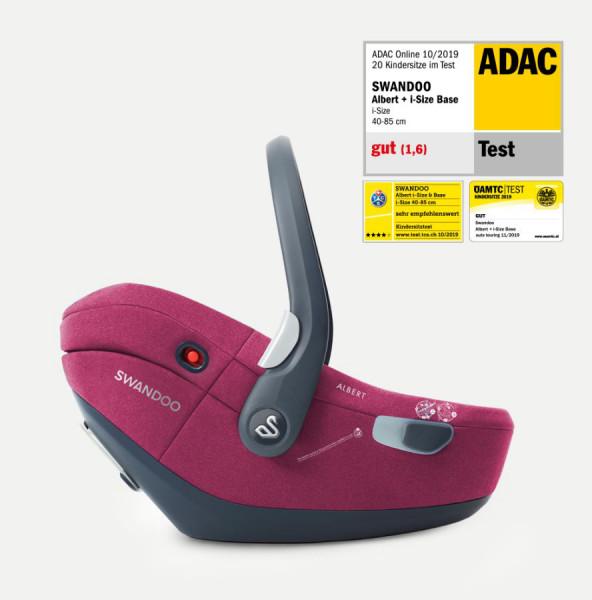 Swandoo Albert i-Size 2020 inkl. Isofix-Base