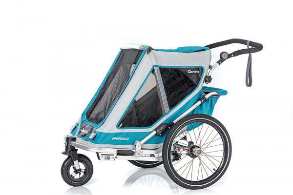 Qeridoo Speedkid2 Fahrradanhänger Modell 2020