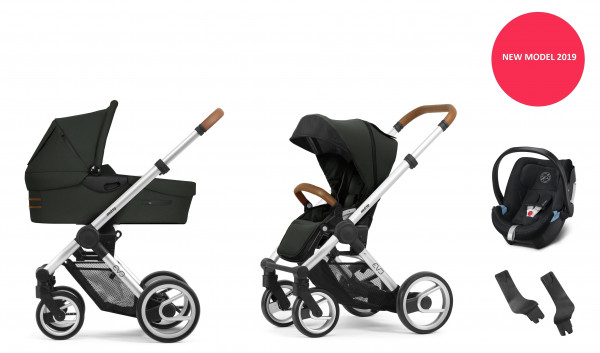 Mutsy Evo Kinderwagen Set 3 in 1 Modell 2019