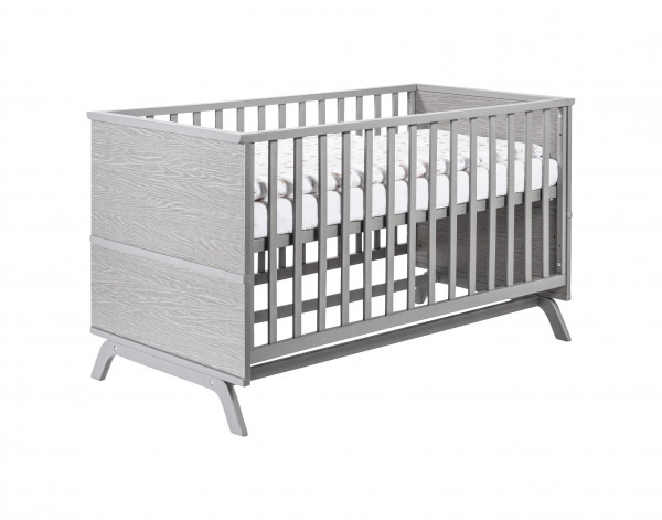 Schardt Kombi-Kinderbett Vicky Grey 70 x 140 cm