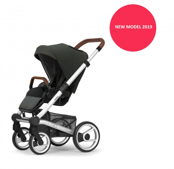 Mutsy Nio Kinderwagen Styling in Rot 2019