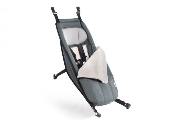 Croozer Babysitz inkl. Winter-Set 2020 für Fahrradanhänger ab 2014